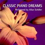 Picture of CD of relaxing piano solos performed by Allan Schiller