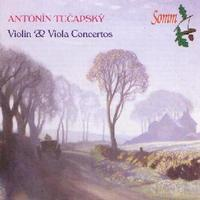 Picture of Antonin Tucapsky concertos for violin and for viola: soloists Viteslav Kuznik with the Janacek Philharmonic Orchestra and Pavel Perina with the Prague Symphony Orchestra.