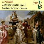 Picture of CD of chamber sonatas by G. F. Handel. Including Trio Sonatas for flute and continuo Artist: London Handel Players