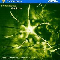 Picture of CD of chamber music, performed by Trio Fibonacci