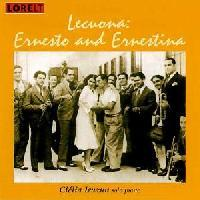 Picture of CD of solo piano music, by Ernesto Lecuona, performed by Clélia Iruzun.