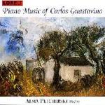 Picture of CD of solo piano music, by Carlos Guastavino, performed by Alma Petchersky.