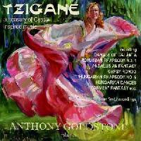 Picture of CD of gypsy-inspired music, performed by Anthony Goldstone (piano)