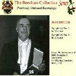 Picture of CD of Sir Thomas Beecham conducting Symphonies 6 and 4 by Sibelius with the Royal Philharmonic Orchestra and the BBC Symphony Orchestra
