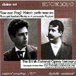 Picture of Double CD of The British National Opera Company performing Cav and Pag in an original recording from 1927