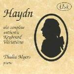 Haydn - The complete authentic Keyboard Variations