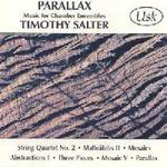Picture of Sheet music  for string quartet and mixed ensemble. CD of music for chamber ensembles by Timothy Salter