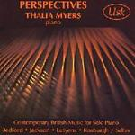 Picture of CD of contemporary British music for solo piano performed by Thalia Myers