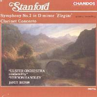 Picture of CD of the Clarinet Concerto by Stanford performed by Janet Hilton and the Ulster Orchestra conducted by Vernon Handley.