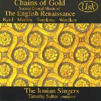Picture of CD of sacred choral music of the English Renaissance performed by the Ionian Singers, conducted by Timothy Salter Artist: Ionian Singers and Timothy Salter
