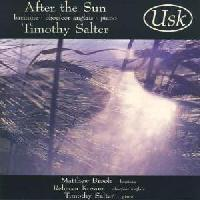 Picture of CD of music for baritone, oboe/cor anglais and piano by Timothy Salter, sung by Mastthew Brook Artist: Matthew Brook, Rebecca Kozam and Timothy Salter