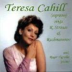 Teresa Cahill sings R Strauss and Rachmaninov