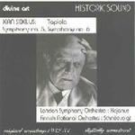 Jean Sibelius:Tapiola, Symphony No 5 and Symphony No 6