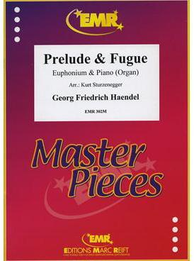 Picture of Sheet music for baritone, tenor trombone (treble clef) or euphonium and piano or organ by George Frideric Handel