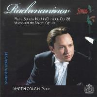 Picture of CD of piano music by Rachmaninov performed by pianist Michael Cousin Artist: Martin Cousin