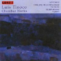 Picture of CD of music for chamber ensemble including voice by Luís Tinoco, performed by Lontano,conductor Odaline de la Martinez