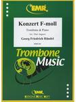 Picture of Sheet music for alto or tenor trombone and piano by George Frideric Handel