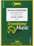 Picture of Sheet music for bass trombone and piano by Alexandre Guilmant