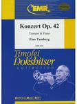 Picture of Sheet music  for trumpet (bb/c) and piano. Sheet music for trumpet in Bb or C, cornet or flugelhorn and piano by Eino Tamberg