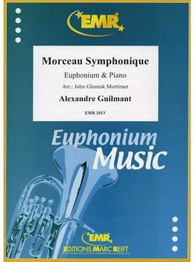 Picture of Sheet music for baritone or euphonium and piano by Alexandre Guilmant