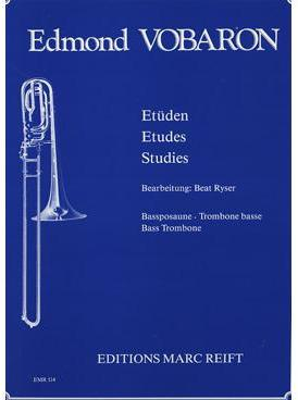 Picture of Sheet music for bass trombone solo by Edmond Vobaron