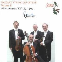Picture of CD of Mozart's 'Milan' string quartets, performed by the Coull Quartet