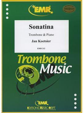 Picture of Sheet music for baritone, tenor trombone or euphonium and piano by Jan Koetsier