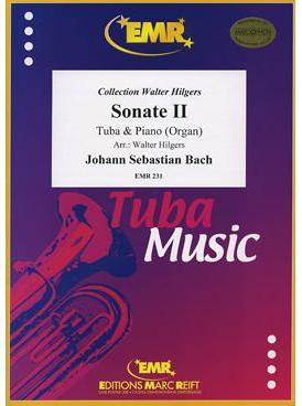 Picture of Sheet music for tuba and piano or organ by Johann Sebastian Bach