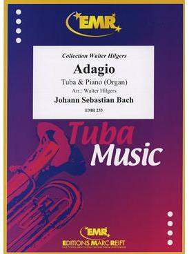 Picture of Sheet music for tenor trombone and piano or organ by Johann Sebastian Bach
