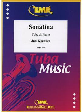 Picture of Sheet music for tuba and piano by Jan Koetsier