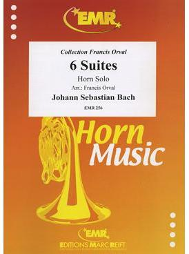 Picture of Sheet music for french horn solo by Johann Sebastian Bach