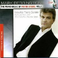 Picture of CD of piano music by Frank Bridge, performed by the pianist Mark Bebbington