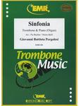 Picture of Sheet music for tenor trombone and piano or organ by Giovanni Pergolesi