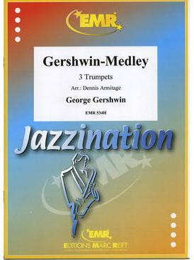 Picture of Sheet music for 3 trumpets or cornets by George Gershwin