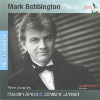 Picture of CD of piano music by Malcolm Arnold and Constant Lambert, performed by Mark Bebbington