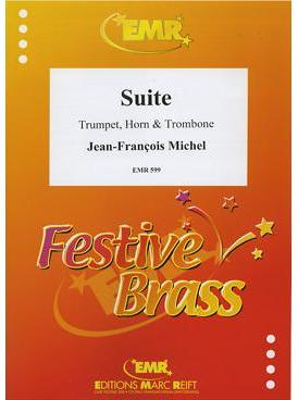 Picture of Sheet music for trumpet, french horn and tenor trombone by Jean-François Michel