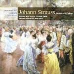 Picture of CD of the ever-youthful music of Johann Strauss performed here by the famous Vienna Philharmonic Orchestra, conducted by Willi Boskovsky.