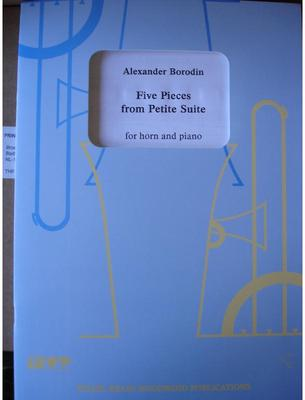 Picture of Sheet music for french horn and piano by Alexander Borodin