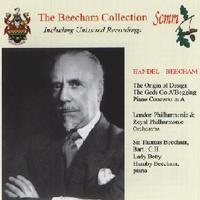 Picture of CD of Sir Thomas Beecham conducting London Philharmonic, Royal Philharmonic and BBC Symphony Orchestras in works by Handel, digitally remastered from original 78s recorded in the 1940s.