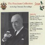 Picture of CD of Sir Thomas Beecham conducting London Philharmonic and Royal Philharmonic Orchestras in  operatic excerpts, digitally remastered from original 78s recorded in the 1930s and 1940s.