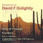 Picture of CD of choral music by David Golightly performed by the Soglasie Male Voice Choir of St Petersburg