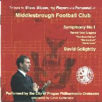 Picture of CD of orchestral music by David Golightly performed by the City of Prague Philharmonic Orchestra