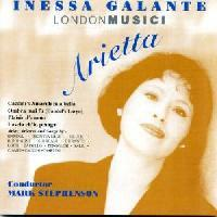 Picture of CD of vocal music performed by Inessa Galante with the London Musici Artist: Inessa Galante, London Musici and Mark Stephenson