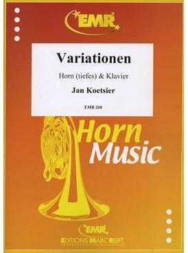 Picture of Sheet music for french horn and piano by Jan Koetsier