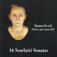 Picture of CD of piano music by Scarlatti performed by Joanna Leach