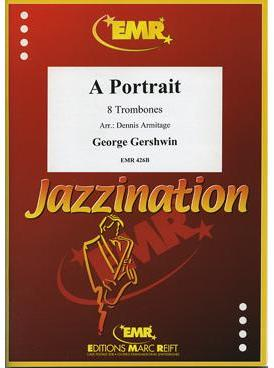 Picture of Sheet music for 8 tenor trombones by George Gershwin