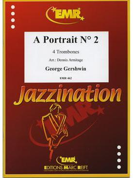 Picture of Sheet music for 3 tenor trombones and bass trombone by George Gershwin