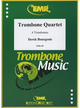 Picture of Sheet music for 4 trombones by Derek Bourgeois