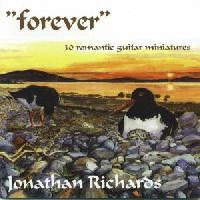 Picture of CD of guitar music by various composers performed by Jonathan Richards
