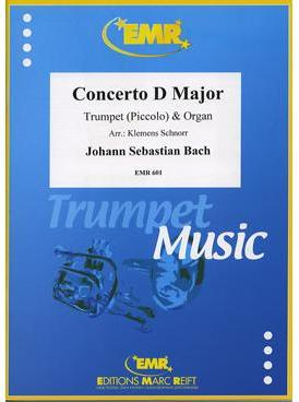 Picture of Sheet music for trumpet and organ by Johann Sebastian Bach